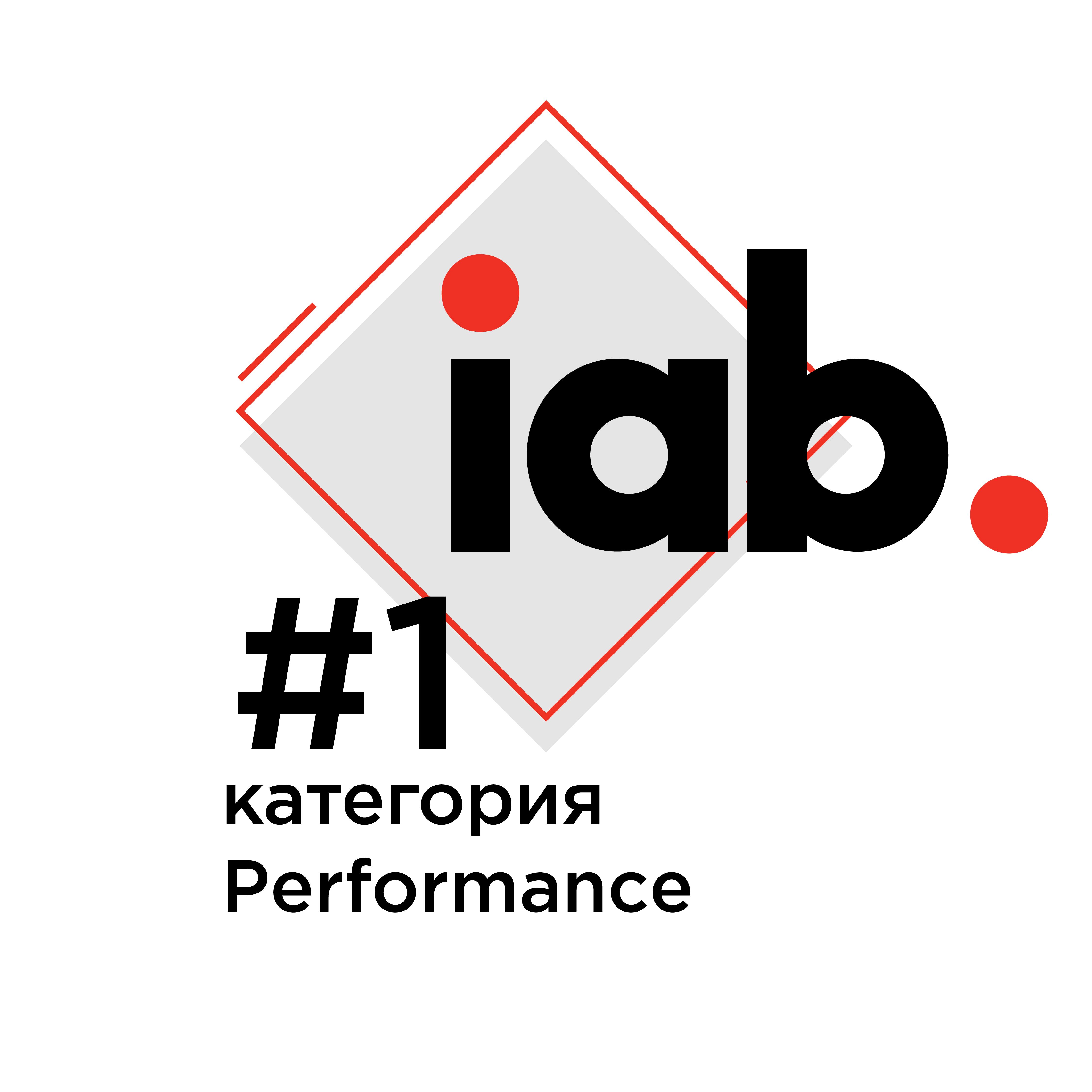 Рейтинг IAB Ukraine: 1 место в категории Перфоманс среди digital-агентств Украины за 2019 год